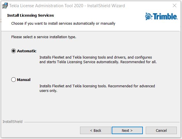 Install License Admin Tool Step 4