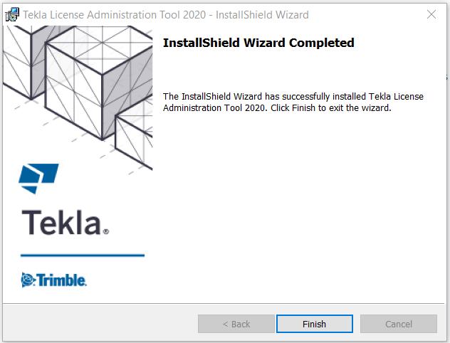 Install License Admin Tool Step 7