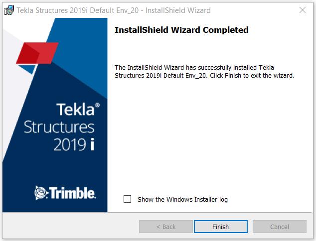 Install Tekla Environment 5