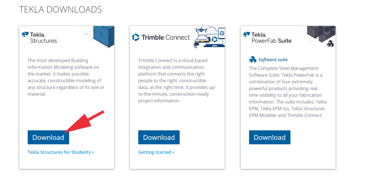 Download Tekla Structures
