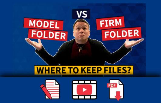 Firm Folder or Template Model Folder