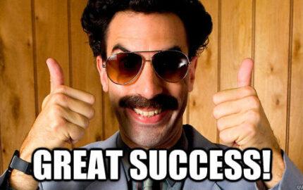 Borat success
