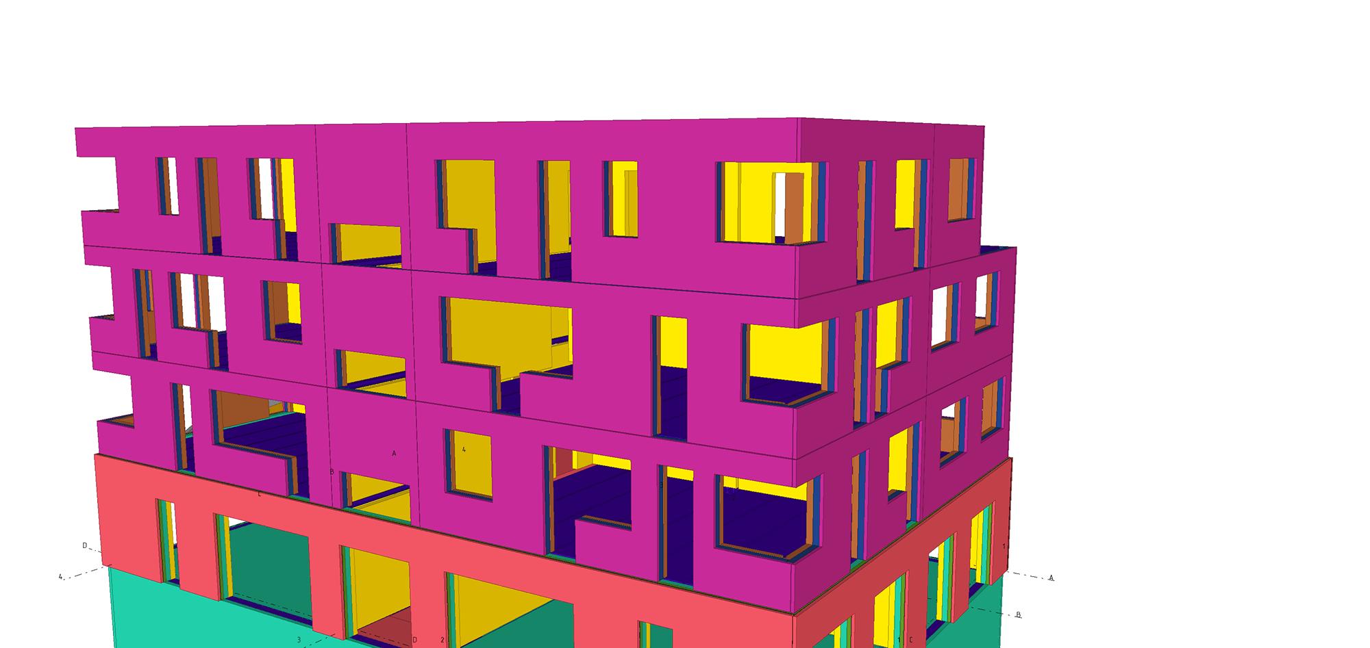 Tekla training concrete model