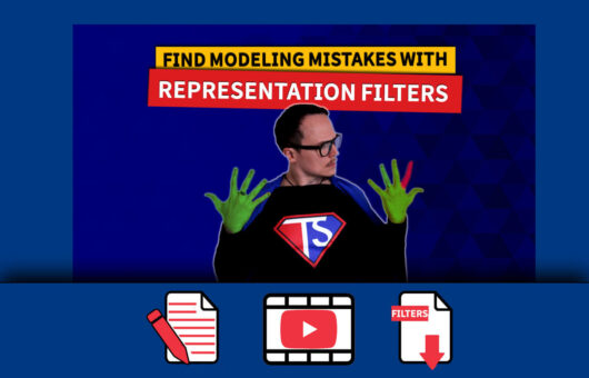 Tekla Representation Filters